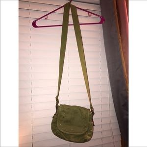 Olive green fossil purse